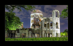 In Memoriam (richieb56) Tags: hiroshima peace park travel reisen japan nippon memoriam memorial monument erinnerung mahnung horror atom bomb bombe zerstörung devastation building world war asia asien sad traurig betroffen