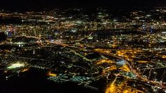 Good night Boston! (tkolos) Tags: boston massachusetts newengland night cambridge zakim citgo fenway bunkerhill charlesriver tdgarden city cityscape canon wingview