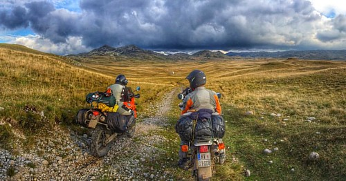 Enduro ride in Sinjajevina Montenegro. Beautiful landscapes to ride. Recommend for adv riders:) #adv #enduro #montenegro #advmontenegro #bike #motorcycle #landscape #mountains #yamaha #honda #ktm #dualsport #sinjajevina #instaphoto #trueadventure #madefor