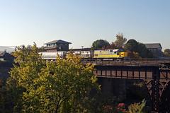 Lehigh Valley at Bridge 60 (Erie Limited) Tags: delawarelackawanna dl alco c420 lehighvalley dl414 lv414 bridge60 scrantonpa scranton