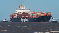 'Ottawa Express'. (PRA Images) Tags: ottawaexpress imo9165360 containership ships shipping smitsandon smitbarbados tugs rivermersey newbrighton liverpool