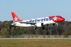 Airbus A320 214 Edelweiss Air HB-IHZ ZRH Zurich Airport Switzerland 20161030 (roli_b) Tags: airbus a320 a320200 a320214 edelweiss air edelweissair swiss hbihz zrh zurich airport switzerland landing approaching zürich flughafen schweiz landung aeropuerto suiza aeroport suisse svizzera airplane plane aircraft jet flugzeug flieger avion aereo october 2016 oktober