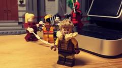 Sabertooth (LordAllo) Tags: lego marvel xmen sabertooth wolverine omega red lady deathstrike weapon x deadpool mutant massacre