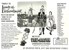 1950s Viewmaster Ad (Christian Montone) Tags: ads advertising vintageads adverts vintage print printads 1950s midcentury