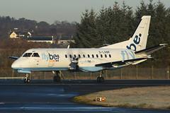 G-LGNF Saab 340B EGPH 23-11-16 (MarkP51) Tags: glgnf saab 340b flybe loganair be bee edinburgh airport edi egph scotland aviation aircraft airplane plane image markp51 nikon d7200