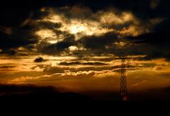 ...HighVoltageSun... (7H3M4R713N) Tags: xf50140mmf28rlmoiswr fujifilm xseries suisse swiss switzerland morning sunrise sunriselight clouds highvoltage levdesoleil ontheroad silouhette