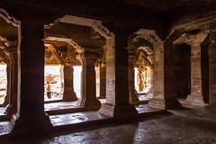 Cave temple, Badami (Thomas Maagaard) Tags: ancient badami expat exploring history india ruins travel vacation