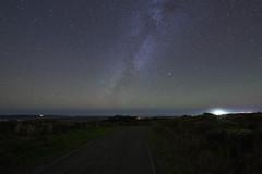 Mount Vision Road (fksr) Tags: pointreyesnationalseashore mountvisionroad night sky stars milkyway pacificocean landscape marincounty california astrometrydotnet:id=nova1797935 astrometrydotnet:status=failed