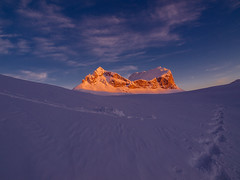 Durmitor, winter on Sedlena greda. (Leonardo Đogaš) Tags: durmitor montenegro crna gora sedlena greda winter snow leonardo đogaš sunset national park unesco door sky ngc