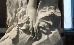 Bernini, Apollo and Daphne (detail) (profzucker) Tags: baroque sculpture italy italian magic alchemy bernini apollo daphne