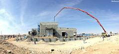 West Dawmat AlJandal Substation ||     (Barbarawi90) Tags: substation winter aljouf sakaka dawmat jandal construction