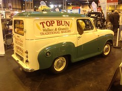 """Austin A35 Van """"Top Bun"""" Bakery (andreboeni) Tags: classic car automobile cars automobiles voitures autos automobili classique voiture retro auto oldtimer klassik classico classica austin a30 a35 van fourgonette fourgoncino wallace gromit"""