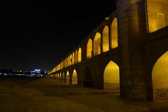 iran_003 (muddycyclist) Tags: panasonic lumix lx7 iran isfahan esfahan bridge night
