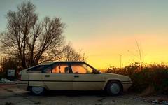 Citron BX 19TRI (Skylark92) Tags: nederland netherlands holland amsterdam oost zeeburgereiland citron car vehicle hydropneumatic bx 19tri 8v 1989 hdr