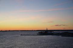 DSC_4936 (Vintage Alexandra) Tags: queen mary 2 ocean liner nyc new york city brooklyn red hook cunard cruise transatlantic sunset photogrpahy