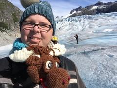 IMG_2468 1 (The Crochet Crowd) Tags: crochetmoose amigurumi moose crochet doll alaska britishcolumbia thecrochetcrowd michaelsellick jeannesteinhilber danielzondervan crochetcruise mooseontheloose