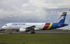 9Q-CLU | Airbus A320-200 | Congo Airways | EIDW 29/07/2015 | CN 3362 | Built 2007 (Mick Planespotter) Tags: airport aircraft airbus congo a320 dublinairport 2015 collinstown eidw 9qclu