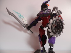 Ganrike, Toa of atom (Toxic Geek) Tags: lego contest g2 bionicle toa moc kaita ccbs