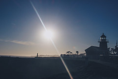 Santa Cruz, California (flrent) Tags: california sunset santacruz west coast waves pacific surfer pch tatsunis