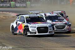 Audi S1 4x4 T16 (92) (Anton Marklund) (tbtstt) Tags: world france championship cross 4x4 rally 9 round anton s1 audi 92 rx rallycross t16 marklund 2015 eks lohac loheac eksrx