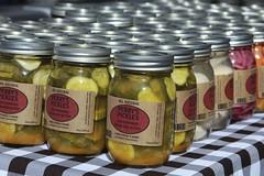 Pickles (Read2me) Tags: she food ny many row repetition ge jars duele cye thechallengefactory pregamesweepwinner rhinebeckfarmersmarket