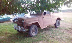 Old jeep pickup