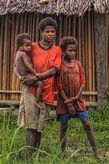 Mother and Children, Bien Village, Papua New Guinea (bfryxell) Tags: children mother papuanewguinea oceania melanesia sepikriver bienvillage