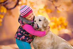 Hug (foto.evines) Tags: friends portrait love girl childhood outdoors kid hug child play closeness childphoto canistherapy