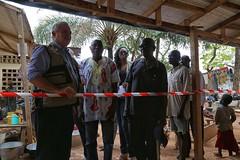 USG O'Brien Vists Saint Saveur, ICRC and Central Mosque (UNMINUSCA) Tags: visit mosque un obrien ocha usg bangui icrc centralafricanrepublic saintsaveur minusca
