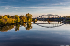 Sternbrcke Magdeburg (SaschaHaaseFotografie) Tags: nature herbst natur magdeburg elbe stadtpark sternbrcke rotehornpark authem