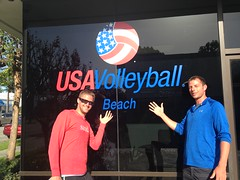 Guys at USAV Headquarters