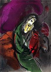 IMG_3768 Marc Chagall. 1887-1985. Paris. Scnes de la Bible. 1956. Lithographie. Bruges Oud Sint Jan. (jean louis mazieres) Tags: museum painting belgium belgique muse bruges museo peintures peintres marcchagall oudsintjan vieilhpitalsaintjean