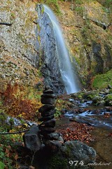 Waterfall Queureuilh (Mt_shoot974) Tags: longexposure travel mountain tree nature beautiful forest landscape waterfall view cascade mont auvergne dore sancy longexpo queureuilh