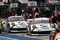 Porsche 911 RSR's (KennethBartonMotorsport) Tags: pits austin texas 911 racing tudor porsche sportscar 2014 imsa cota wec rsr pitroad uscc pcna kennethbarton worldendurancechampionship circuitoftheamericas lonestarlemans unitessportscarchampionship austin6hour