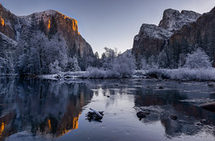 Waking up The Capitan! (rajaramki) Tags: yosemite yosemitenationalpark elcapitan gatesofthevalley yosemitesunrise yosemiteconservancy