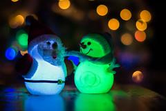 Joyeux nol !!! (rnsto99) Tags: christmas santacruz happy 50mm nikon bokeh noel iceman f18 nol happychristmas bonhommedeneige joyeuxnoel d3100