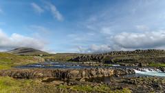 Am Flusse Grimsá (Panasonikon) Tags: iceland grimsá island fluss nikond5100 panasonikon sigma1020 landschaft landscape wolken clouds weitwinkel