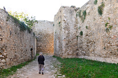 Corridor (RobW_) Tags: road trip castle december greece monday peloponnese 2015 methoni messenia 07dec2015