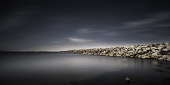 Varberg Jetty (Mabry Campbell) Tags: longexposure sea seascape water photography skull photo europe photographer image fav50 sweden jetty may fav20 coastal photograph 100 24mm scandinavia fav30 f11 varberg fineartphotography resund 2014 halland architecturalphotography commercialphotography fav10 fav100 fav40 fav60 architecturephotography fav90 fav80 fav70 tse24mmf35l houstonphotographer mabrycampbell may272014 6610sec 20140527h6a6069