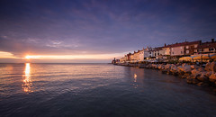 Venice in Slovenia (grzes_fajny21) Tags: bridge sky water architecture landscape coast seaside waterfront outdoor slovenia shore piran slowenia pirano iloveslovenia