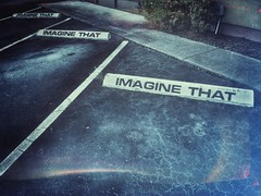 IMAGINE THAT (ThePolaroidGuy [CensoredRestricted]) Tags: ed daylight parkinglot florida availablelight parking edward imagine existinglight sarasota drake asphalt parkingspaces srq masterphotographer imaginethat edwarddrake edwarddrakemfa thepolaroidguy