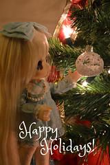 Happy Holidays! ^-^ (Shatiel85) Tags: christmas new season toy holidays doll year sugar frill 2015 azone kikipop