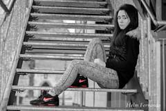 Janina (fernando.helm) Tags: auto pink woman max girl car shoe shoes air nike bmw sneaker frau 90 schuhe mädchen airmax pkw kronach