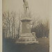 SW Centreville MI RPPC c.1909 St. Joseph County GAR Memorial erected 1909 by GENERAL Isaac D Toll and by citizens of Centreville at Prairie River Cemetery Grounds PHOTOGRAPHER JH CAVE