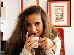 Chiara & caff (kalosphoto) Tags: portrait ritratto caff bar
