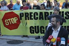 _MG_6485 (txengmeng) Tags: guggenheim museum museoa bilbao bilbo baskenland streik greba huelga
