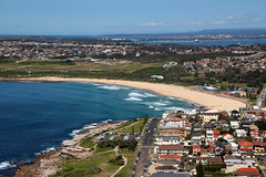 Sydney By Helicopter/Maroubra Beach (NTG's pictures) Tags: robinson r44 blue sky helicopters sydney nsw australia maroubra beach