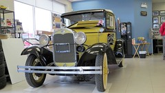 1931 Ford Model A Deluxe Roadster (Gerald (Wayne) Prout) Tags: 1931fordmodeladeluxeroadster gaysgarage valgagne northeasternontario canada prout geraldwayneprout canon canonpowershotsx50hs 1931 ford modela deluxe roadster gays garage ontario northernontario ontarione northeastern northern