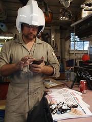 Serious Work (thorssoli) Tags: dwdesignstudios helmet prop costume xwing pilot replica vacform