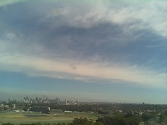 Sydney 2016 Oct 21 08:53 (ccrc_weather) Tags: ccrcweather weatherstation aws unsw kensington sydney australia automatic outdoor sky 2016 oct earlymorning